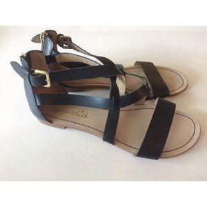 Splendid Anthropologie Leather Sandals